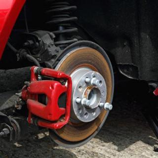 Ремонт тормозных колодок грузовых автомобилей