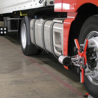 Сход развал грузовых автомобилей