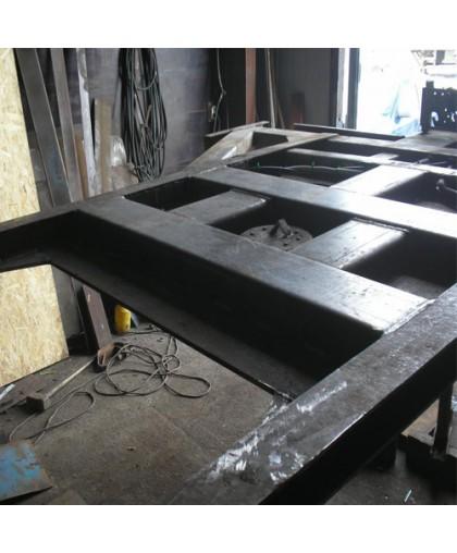 Ремонт опорной плиты