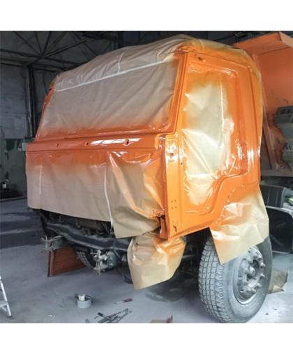 Покраска кабины
