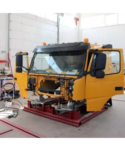 Ремонт кабины грузового автомобиля